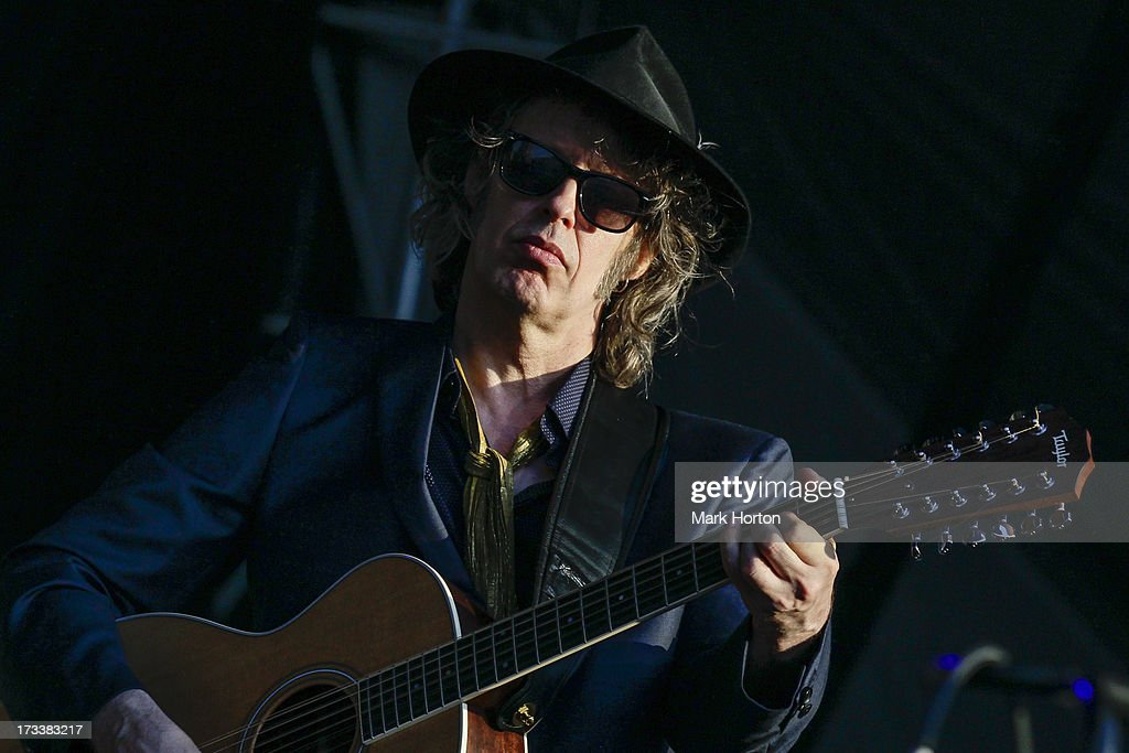 Mike Scott of The Waterboys performs on Day 9 of the RBC Royal Bank Bluesfest on July 12, 2013 in Ottawa, Canada.