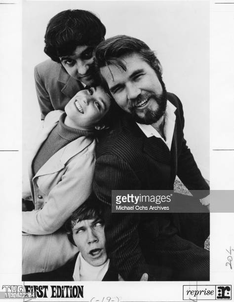 Mike Settle Terry Williams Thelma Camacho and Kenny Rogers of Kenny Rogers The First Edition portrait 1967