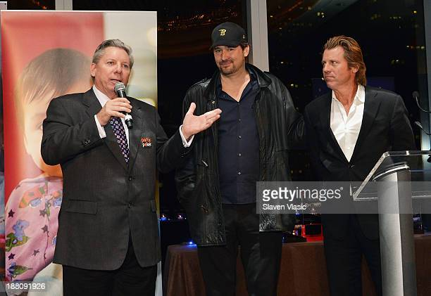 Mike Sexton Phil Hellmuth and Vince Van Patten attend The Children's Hospital Of Philadelphia World Poker Tour All In For Kids Poker Tournament at...