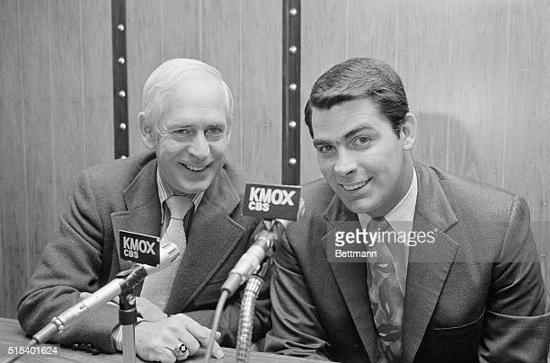 Mike Shannon former Cardinal third baseman, will join Jack Buck in broadcasting the 1972 St. Louis Cardinal baseball games. Shannon was sidelined...