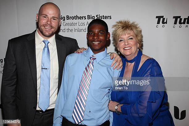Mike Shaw Billy Walsh and Mary Willard attend Big Brothers Big Sisters 2010 Rising Stars Gala at The Beverly Hilton hotel on October 29 2010 in...