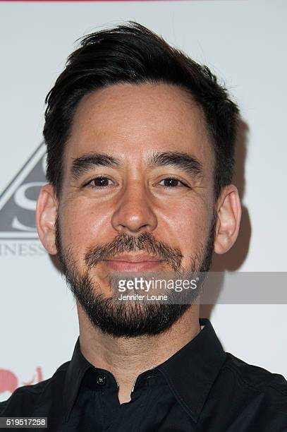 Mike Shinoda arrives at the Charity Poker Tournament to Benefit Music for Relief at the Taglyan Complex on March 31 2016 in Los Angeles California