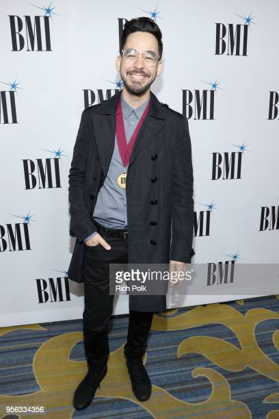 Mike Shinoda attends 66th Annual BMI Pop Awards at Regent Beverly Wilshire Hotel on May 8 2018 in Beverly Hills California