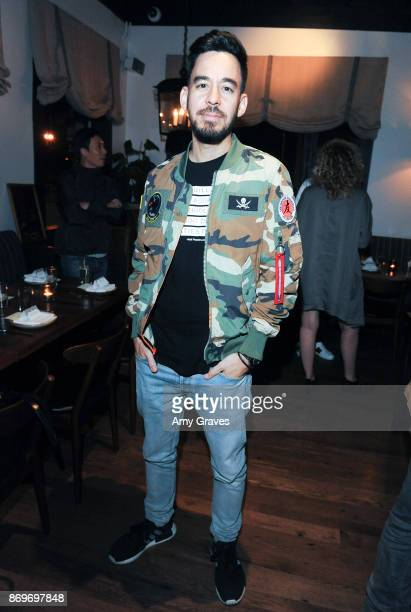 Mike Shinoda attends the Chivas Regal And The Hundreds Celebrate Creative Entrepreneurs At Felix Restaurant on November 2 2017 in Venice California