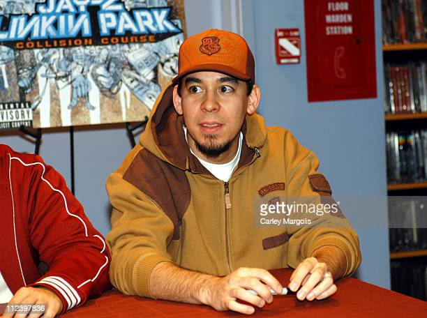 Mike Shinoda of Linkin Park during Linkin Park Signs Copies of Their New Book 'From the Inside Linkin Park's Meteora' December 14 2004 at Borders...