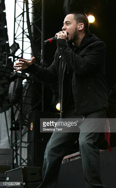 Mike Shinoda of Linkin Park during Pinkpop Festival 2007 - Day 3 at Megaland in Landgraaf, Netherlands.