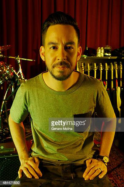 Mike Shinoda of musical group Linkin Park is photographed for Los Angeles Times on May 15 2014 in North Hollywood California