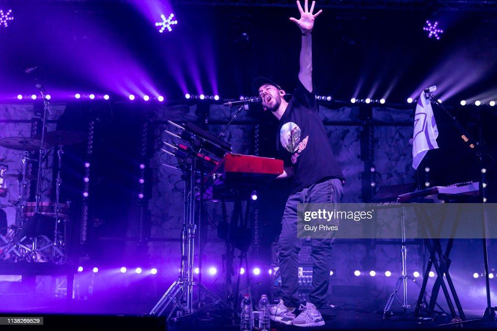 ISR: Mike Shinoda At Tel Aviv