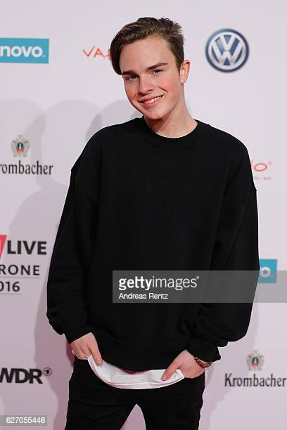 Mike Singer attends the 1Live Krone at Jahrhunderthalle on December 1 2016 in Bochum Germany