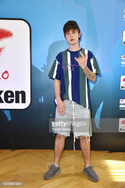 Mike Singer attends the Radio Brocken Stars for free open air festival on August 18 2018 in Magdeburg Germany