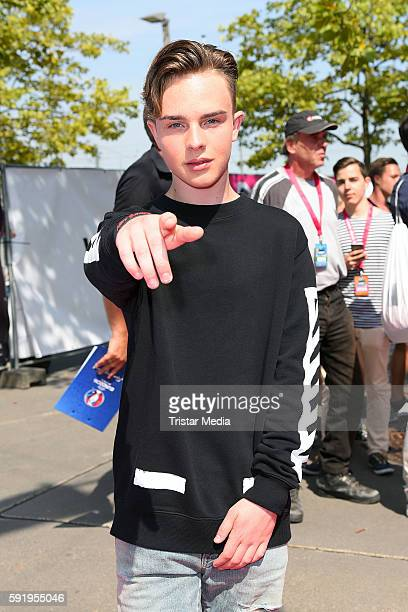 Mike Singer attends the VideoDays 2016 at Lanxess Arena on August 19 2016 in Cologne Germany