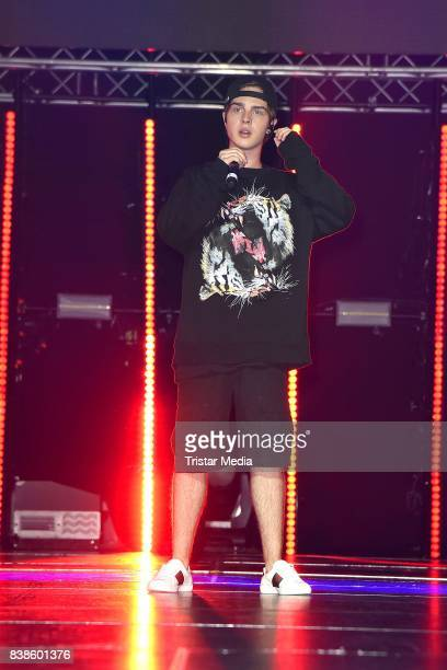 Mike Singer performs at the VideoDays 2017 at Lanxess Arena on August 24 2017 in Cologne Germany