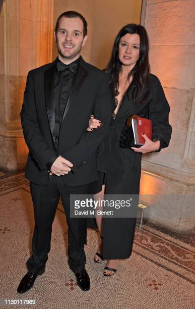 Mike Skinner and Claire Le Marquand attend The Portrait Gala 2019 hosted by Dr Nicholas Cullinan and Edward Enninful to raise funds for the National...