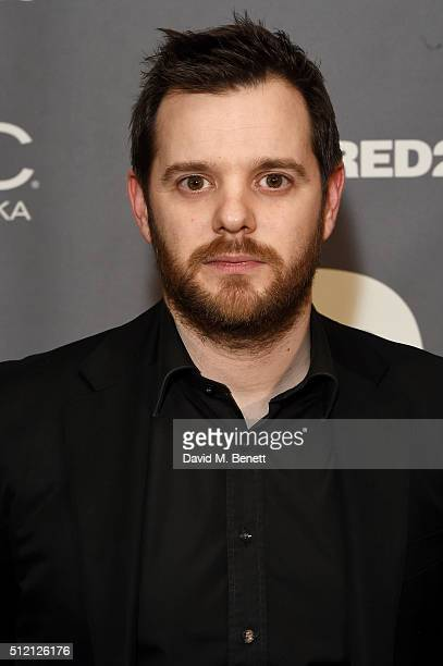 Mike Skinner attends the Warner Music Group Ciroc Vodka Brit Awards after party at Freemasons Hall on February 24 2016 in London England