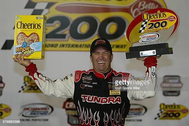 Mike Skinner wins the Cheerios 200 NASCAR Craftsman Truck Series Richmond International Raceway Sept 8 2005
