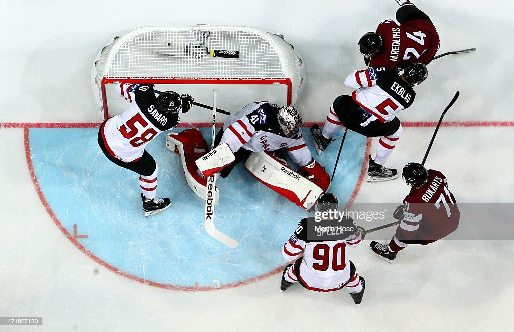 Canada v Latvia - 2015 IIHF Ice Hockey World Championship