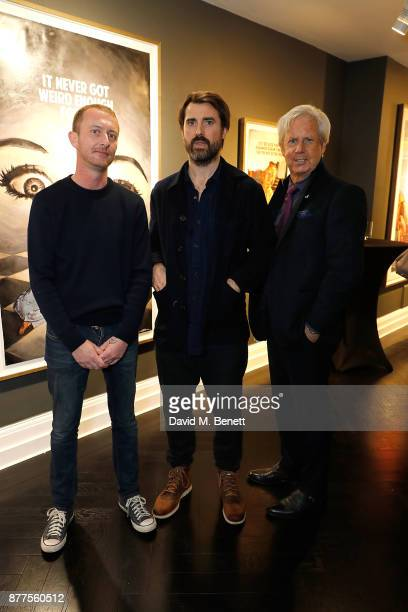 Mike Snelle James Golding and James Campbell attend an intimate VIP private view for The Connor Brothers with catering by Michelin Starred chef Tom...