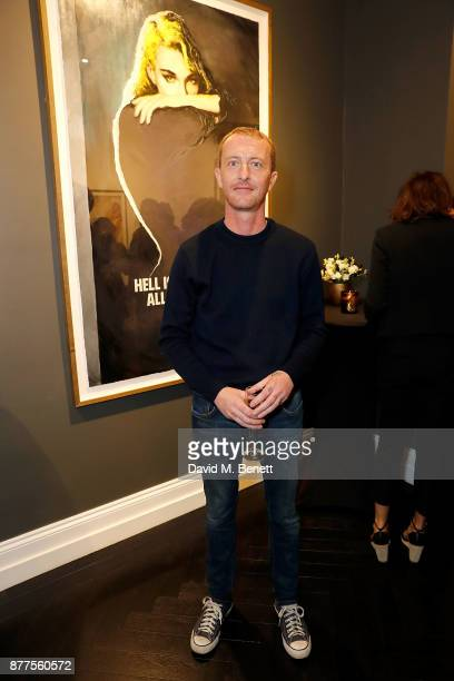 Mike Snelle of the Connor Brothers attends an intimate VIP private view for The Connor Brothers with catering by Michelin Starred chef Tom Sellers at...