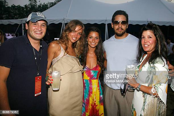 Mike Sokoloff Danielle DeMarne Candice Levy David Blaine and Shelley Ross attend HAMPTON SOCIAL at ROSS Presents BILLY JOEL in Concert Sponsored by...