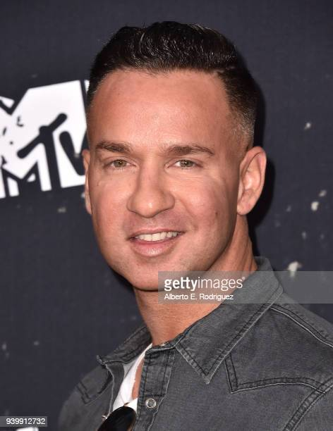 "Mike Sorrentino attends the Premiere of MTV Network's ""Jersey Shore: Family Vacation"" at HYDE Sunset: Kitchen + Cocktails on March 29, 2018 in West..."