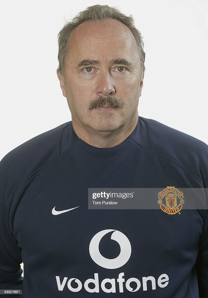 Mike Stone, club doctor of Manchester United poses during the annual club photocall at Carrington Training Ground on 5 August 2005 in Manchester, England.