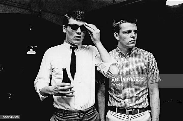 Mike Suggs from Madness Backstage Ska 2 Tone UK 1980
