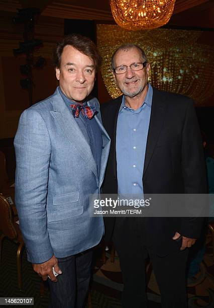 Mike Sullivan and actor Ed O'Neill attend the 16th Annual Global Green USA Millennium Awards held at Fairmont Miramar Hotel on June 2 2012 in Santa...