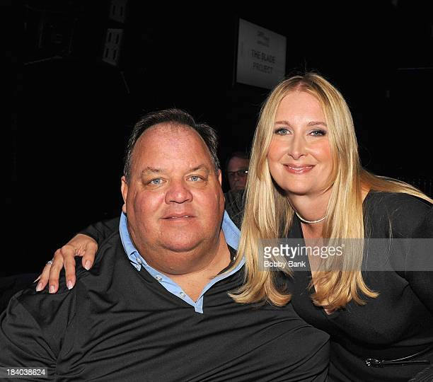 Mike Sullivan and Marcy Wudarski attends the Wounded Warrior Project Carry Foward Awards Arrivals at Club Nokia on October 10 2013 in Los Angeles...