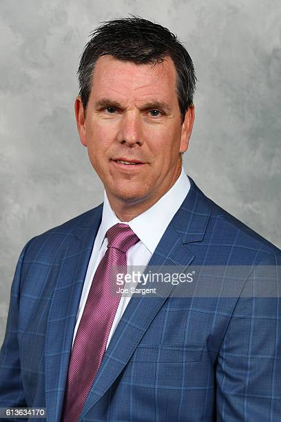 Mike Sullivan of the Pittsburgh Penguins poses for his official headshot for the 20162017 season on September 22 2016 at the PPG Paints Arena in...