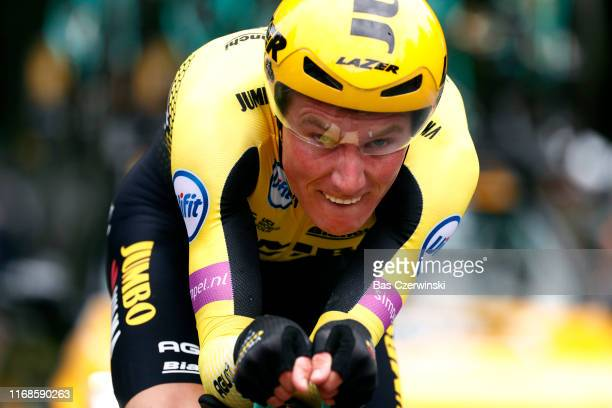 Mike Teunissen of The Netherlands and Team Jumbo-Visma / during the 15th Binck Bank Tour 2019, Stage 6 a 8,4km Individual Time Trial from Den Haag to...