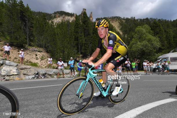 Mike Teunissen of The Netherlands and Team Jumbo-Visma / during the 106th Tour de France 2019, Stage 18 a 208km stage from Embrun to Valloire 1419m /...