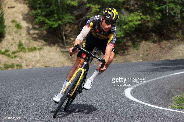 Mike Teunissen of The Netherlands and Team Jumbo-Visma during the 108th Tour de France 2021, Stage 15 a 191,3km stage from Céret to...