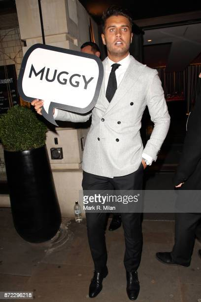 Mike Thalassitis attending the ITV Gala afterparty at Aqua on November 9 2017 in London England