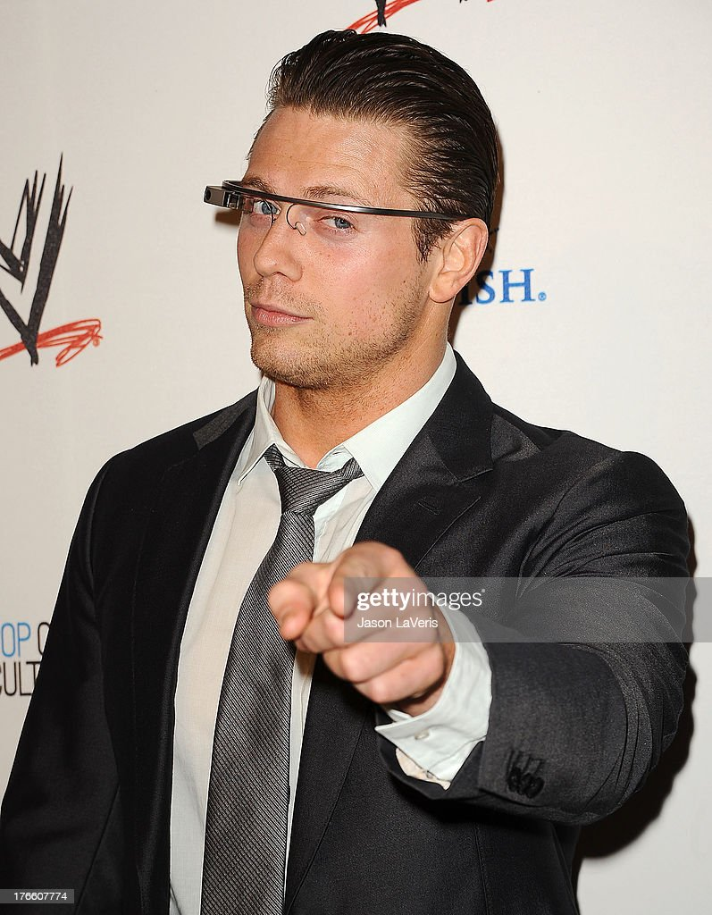 Mike 'The Miz' Mizanin attends the WWE SummerSlam VIP party at Beverly Hills Hotel on August 15, 2013 in Beverly Hills, California.