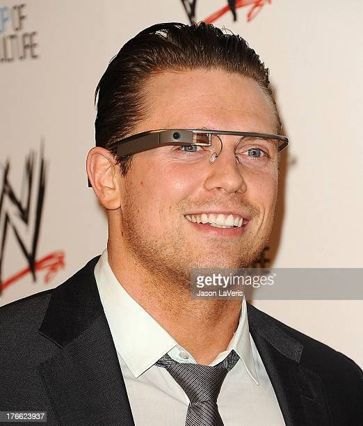Mike 'The Miz' Mizanin attends the WWE SummerSlam VIP party at Beverly Hills Hotel on August 15 2013 in Beverly Hills California