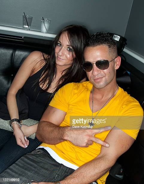 Mike The Situation Sorrentino and Melissa Sorrentino visit Park East on August 25 2011 in Hazlet New Jersey