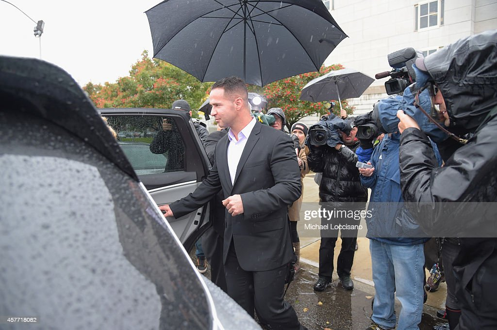 Mike And Marc Sorrentino Court Appearance : News Photo