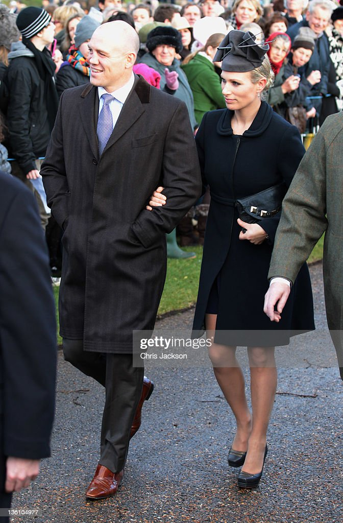British Royals Attend Christmas Day Service At Sandringham : News Photo