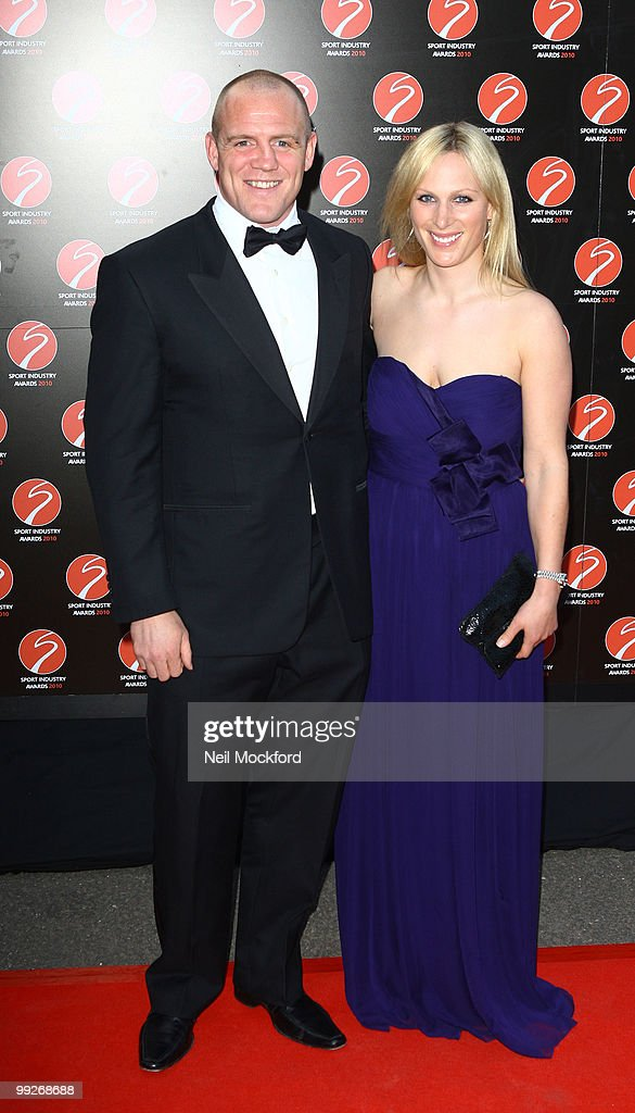 Mike Tindall and Zara Phillips attends the Sport Industry Awards at Battersea Evolution on May 13, 2010 in London, England.