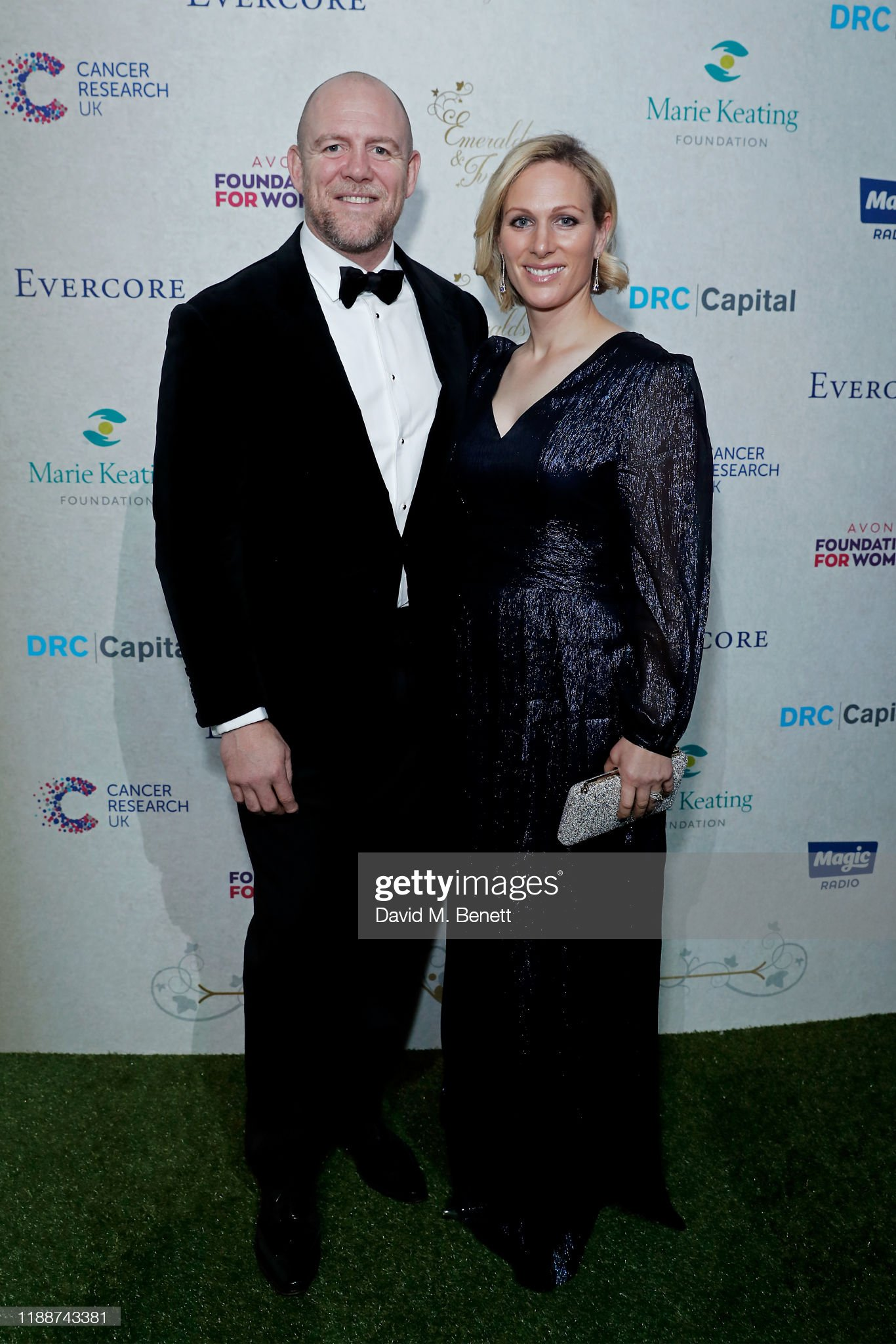Ronan And Storm Keating Host 13th Emeralds & Ivy Ball In Partnership With Cancer Research UK And The Marie Keating Foundation : News Photo
