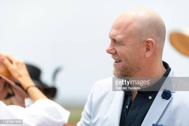 Mike Tindall attends the Magic Millions Polo on January 05, 2020 in Gold Coast, Australia.