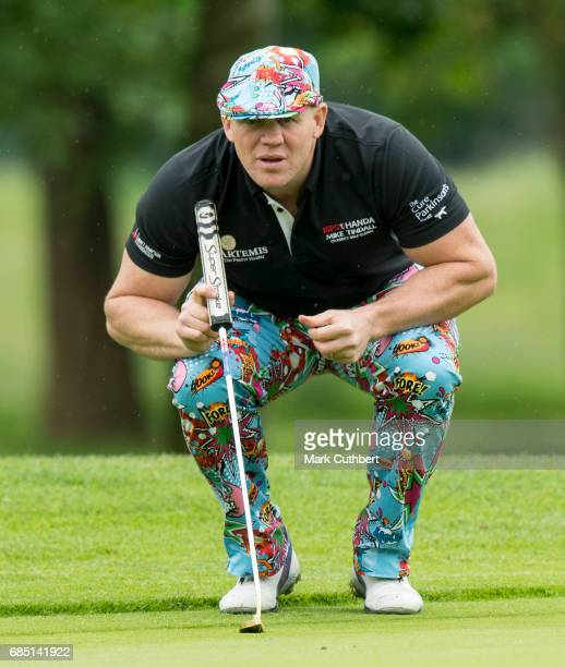 Mike Tindall during the Mike Tindall Celebrity Golf Classic at The Belfry on May 19 2017 in Sutton Coldfield England