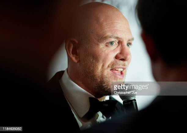 Mike Tindall speaks during the New Zealand Olympics Committee Gala Dinner on October 31, 2019 in Tokyo, Japan.