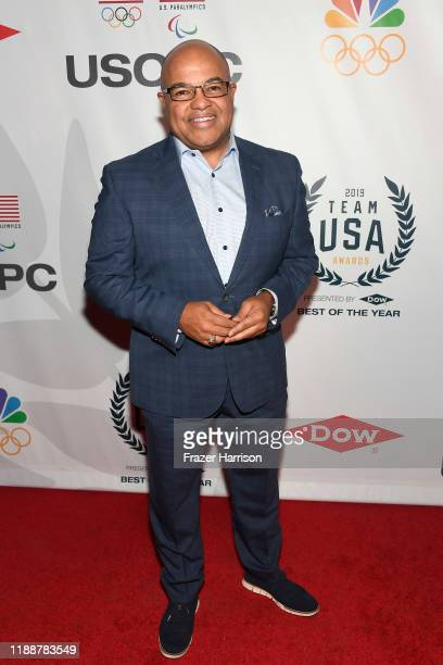 Mike Tirico attends the 2019 Team USA Awards at Universal Studios Hollywood on November 19, 2019 in Universal City, California.