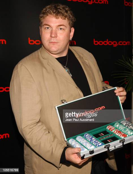 Mike Tracer at bodog.com during bodog.com at The Silver Spoon Pre-Emmy Hollywood Buffet - Day 1 at Private residence in Beverly Hills, California,...