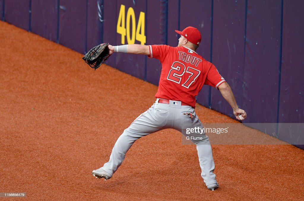 Los Angeles Angels of Anaheim v Tampa Bay Rays : News Photo