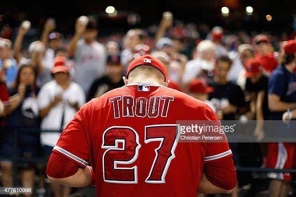 World S Best Mike Trout Stock Pictures Photos And Images