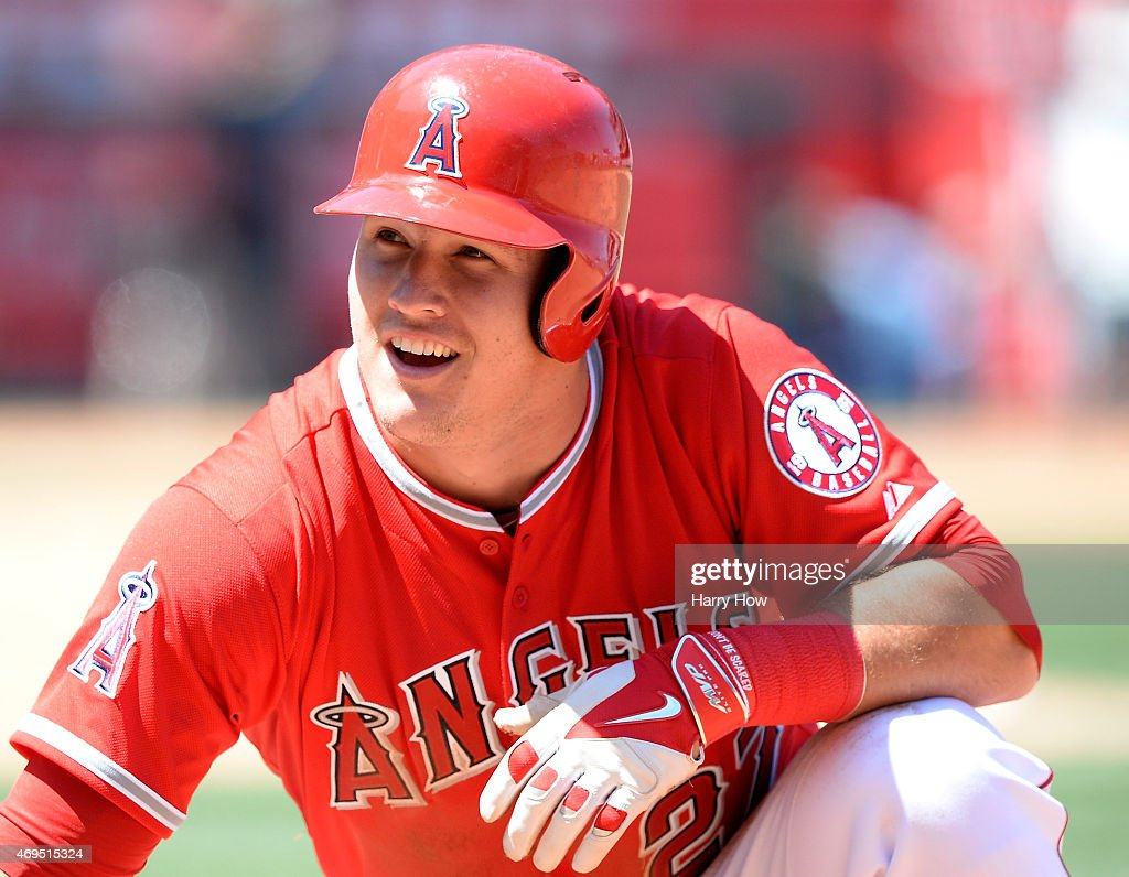 Kansas City Royals v Los Angeles Angels of Anaheim : News Photo