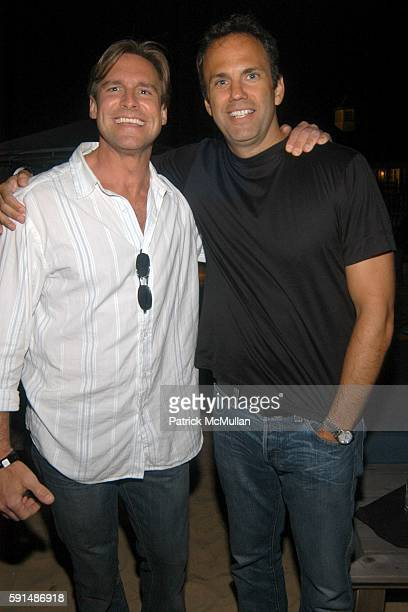 Mike Turner and Jeff Farno attend Southampton Soiree hosted by Luigi Tadini Amanda Hearst and Gillian HearstShaw at Cain at the Cabanas on June 25...