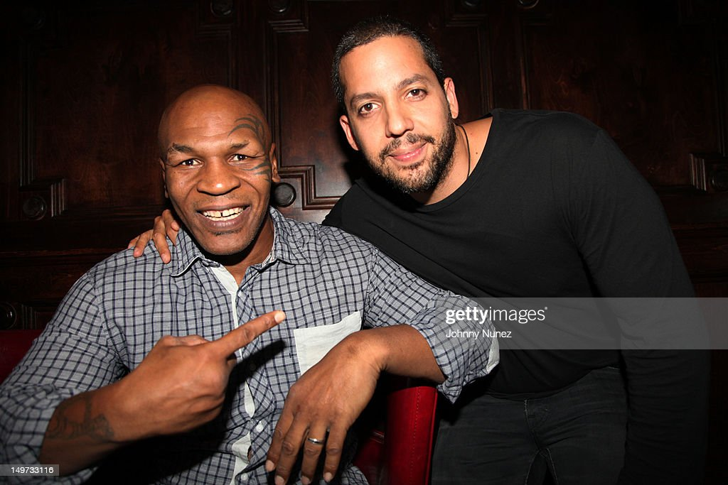 Mike Tyson And David Blaine Attend Mike Tyson Undisputed Truth News Photo Getty Images